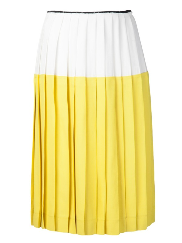 skirt cedric charlier sunshine skirt