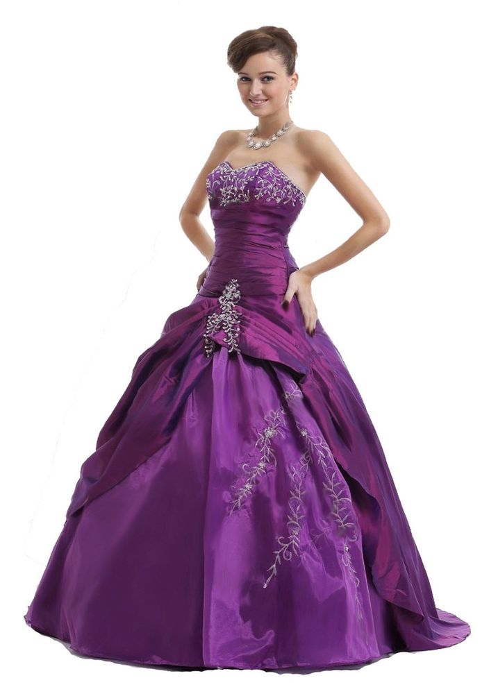 Prom Dress Formal Gown Homecomeing Brand New Size 2 4 6 Locted in US Fast SHIP | eBay