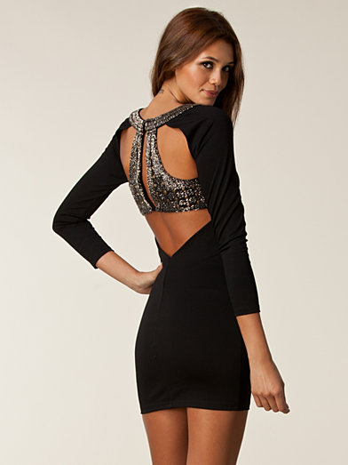 Faith Dress - Nly Trend - Black - Party Dresses - Clothing - Women - Nelly.com Uk