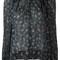 Isabel marant floral print blouse, women's, size: 40, black, silk/spandex/elastane