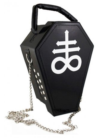 Kill Star Coffin Handbag | Attitude Clothing