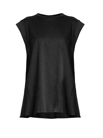 top back cotton black
