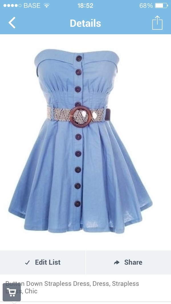 dress jeans strapless dress summer dress blue dress