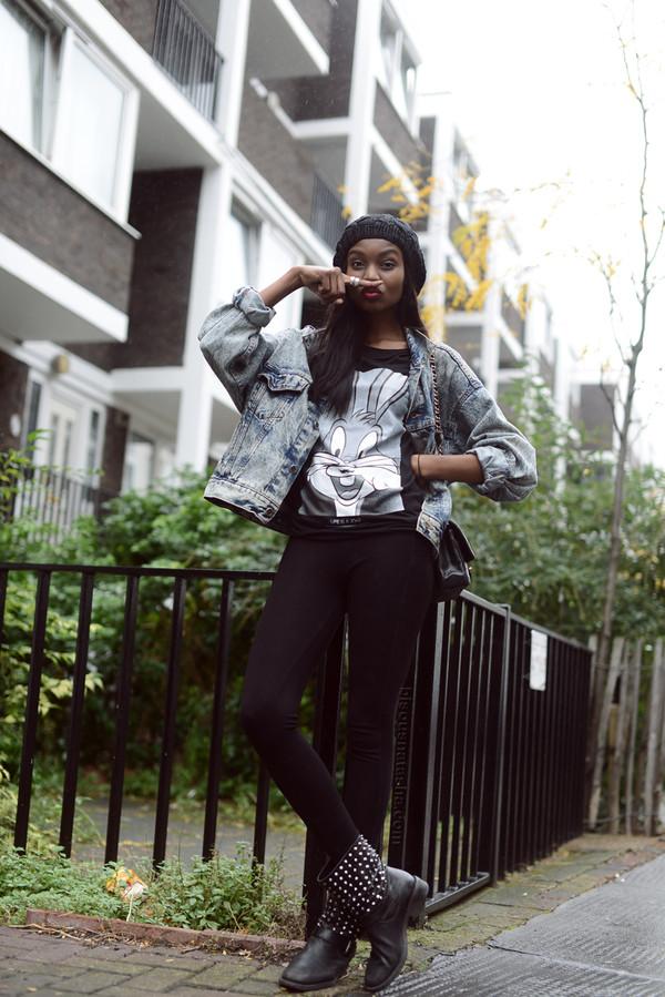 bisous natasha t-shirt pants shoes jacket bag hat