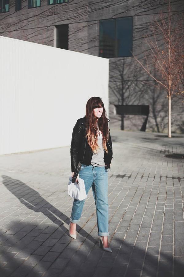 fringe and frange shoes jeans bag t-shirt jacket