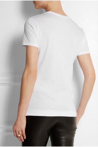 Adam Lippes|Cotton T-shirt|NET-A-PORTER.COM