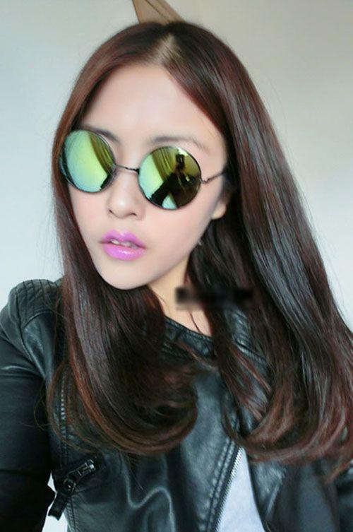 Prince retro round glasses eye lens fashion sunglasses for men and women tide - DualShine