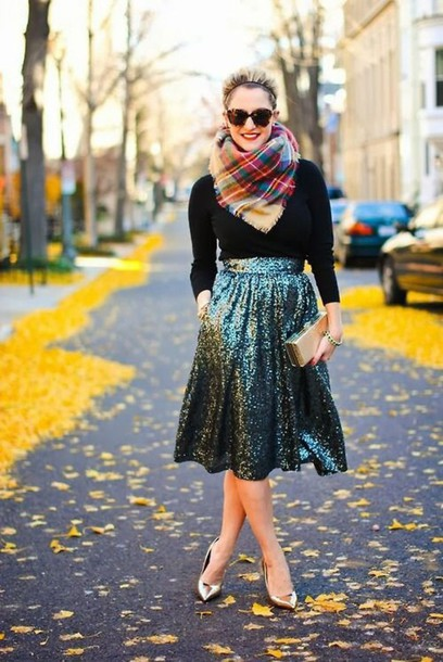 skirt sparkly dress sequin skirt
