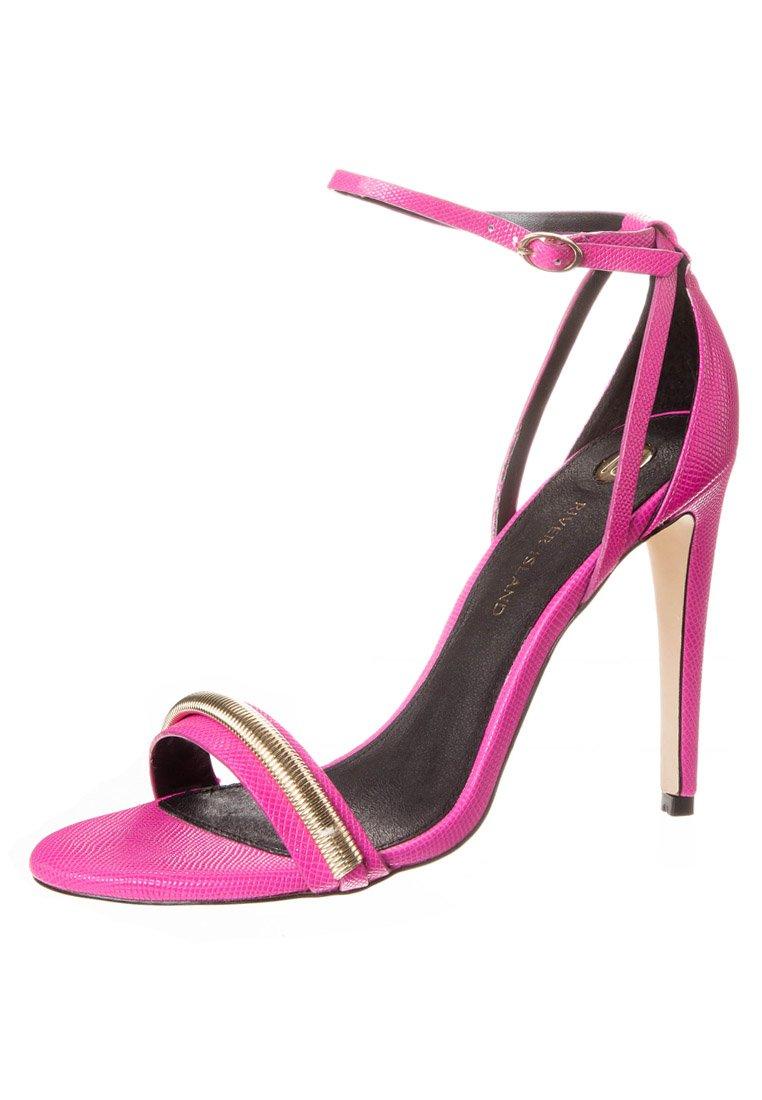 River Island High Heel Sandalette - pink - Zalando.de
