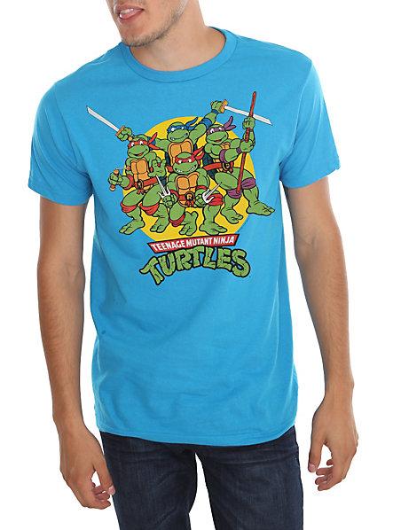 Teenage Mutant Ninja Turtles Circle Logo T-Shirt | Hot Topic