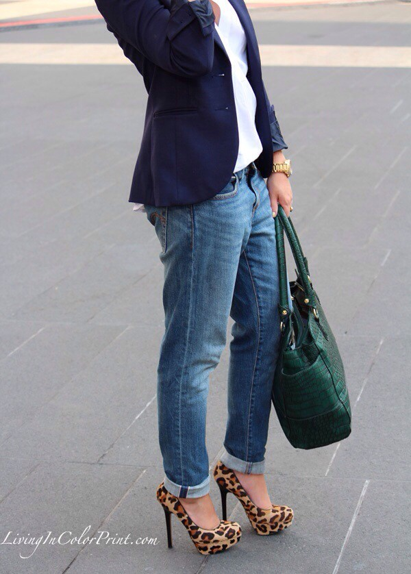 bag jeans jacket shoes