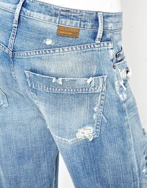 Goldsign | Goldsign Mr Right Distressed Boyfriend Jeans at ASOS