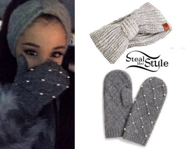 gloves ariana grande