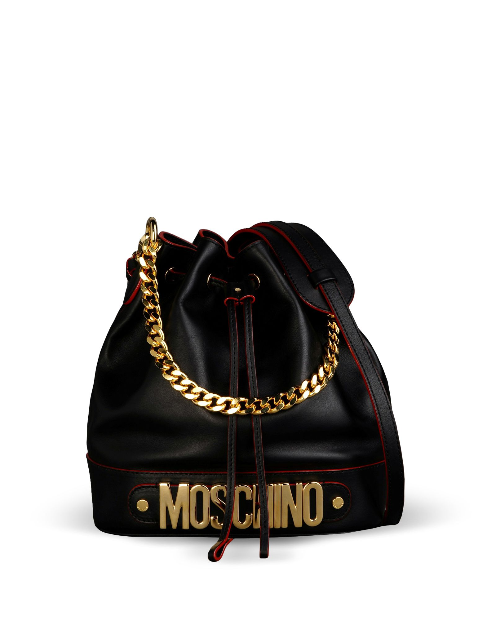 Medium Leather Bag Women - Moschino Online Store