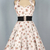 40s 50s Floral Print Swing Halterneck Dress 82408 [82408] - £34.99 : Queen of Holloway, Dressing Shop