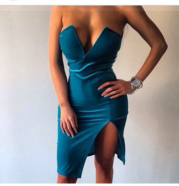 dress velvet dress