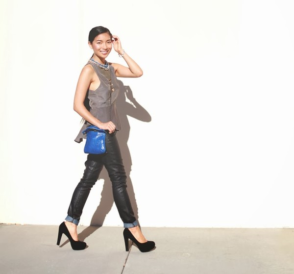 honey and silk t-shirt pants bag jewels shoes