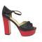 Beautiful sandals - high heel platform sandals