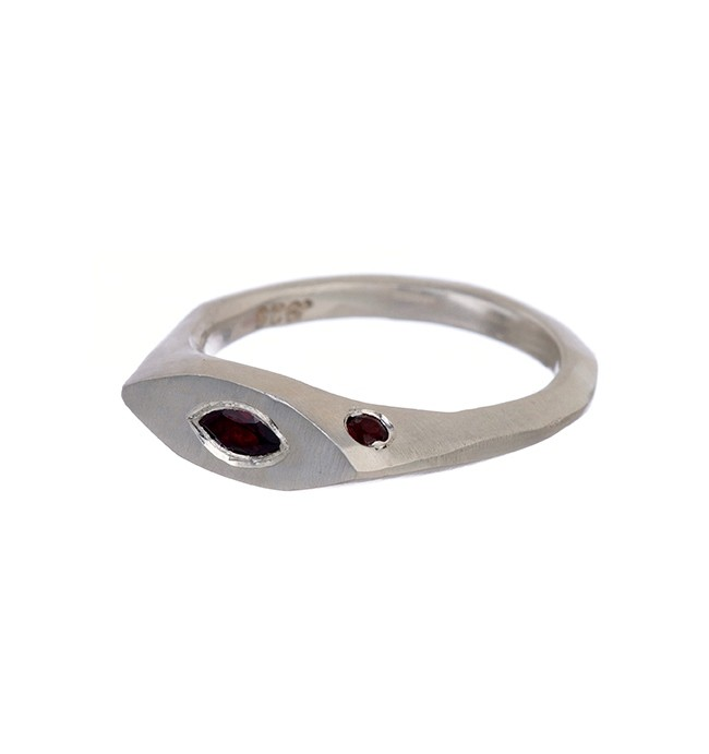 Oval Eye Ring - Simple Lines & Shapes - jewelry