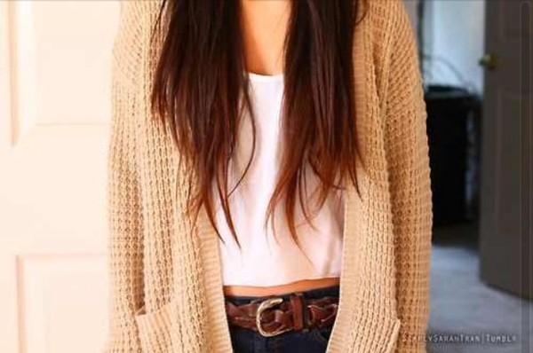 sweater corton knitwear wwhhite crop tops white belt jeans belt jeans boho hipster grunge alternative cardigan