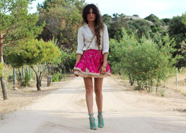madame rosa blouse skirt shoes bag