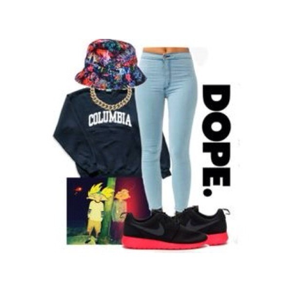sweater hat jewels jeans shoes