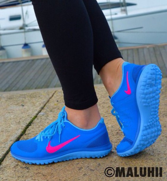 shoes nike running shoes blue pink blue shoes nike shoes nike nike sneakers blue sneakers