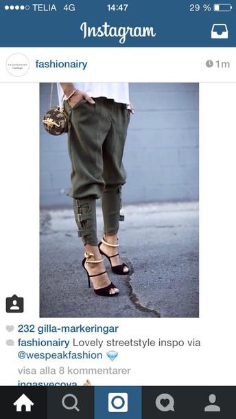 pants green panta green fashion
