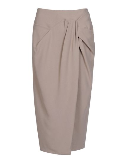 Burberry Prorsum 3/4 Length Skirt - Burberry Prorsum Skirts Women - thecorner.com