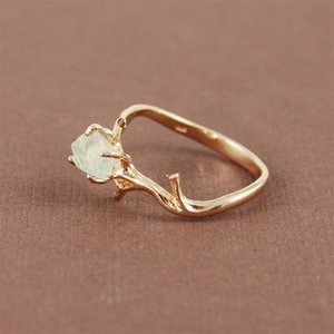 ALIBI JEWELRY NYC ? Nature Gem Ring on Wanelo
