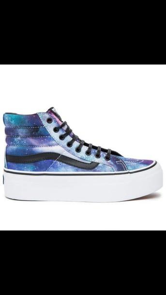 shoes galaxy vans