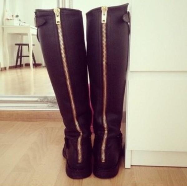 shoes boots combat boots black