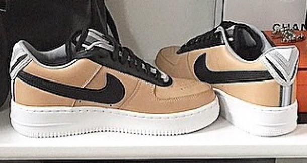 shoes tennis shoes beige shoes