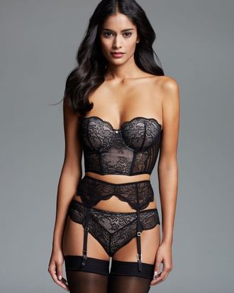 underwear lingerie set grey blush lingerie lace bralette garter