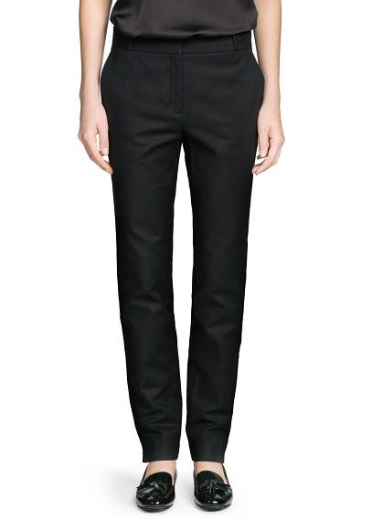 MANGO - CLOTHING - Coats - Cotton suit trousers