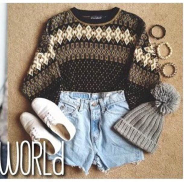 sweater oversized sweater style