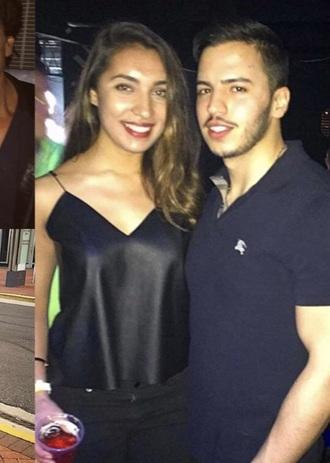 blouse black leather sleeveless