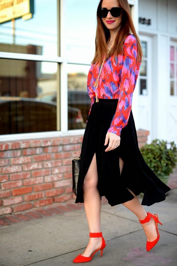 m loves m t-shirt skirt shoes jewels bag sunglasses