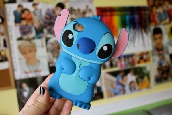 bag stich iphone iphone case iphone 5 case blue stich iphone 5 case