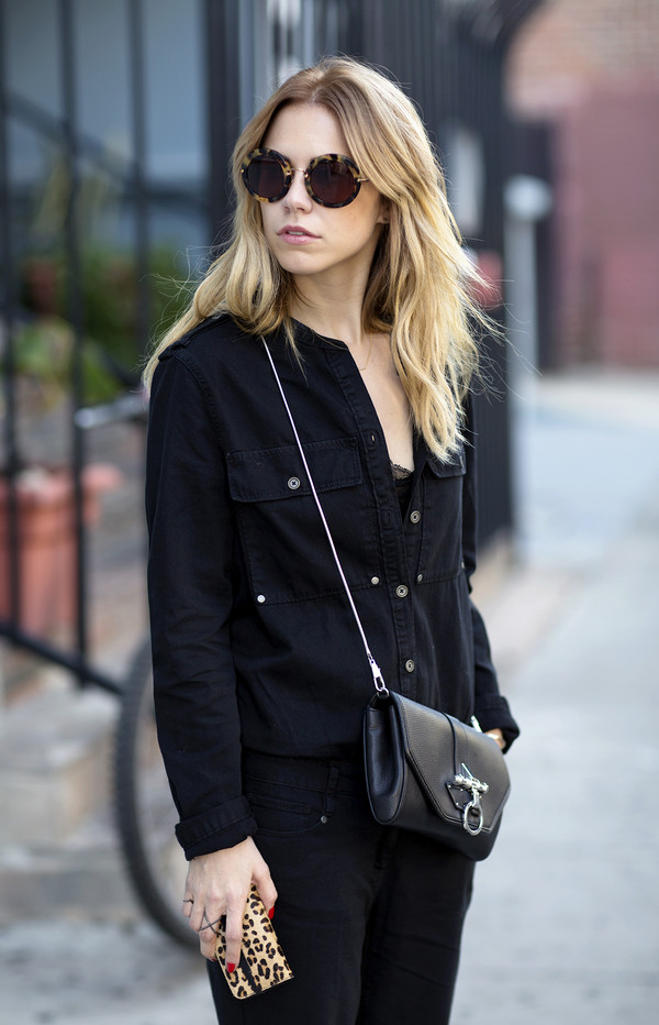 always judging pants tank top sunglasses shoes bag jewels
