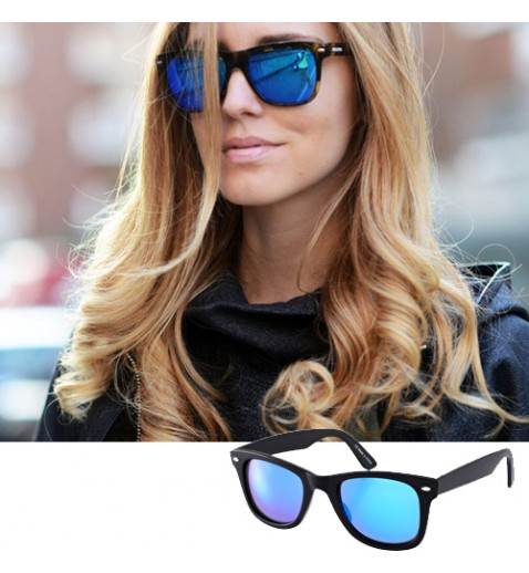 Squared Mirrored Sunnies