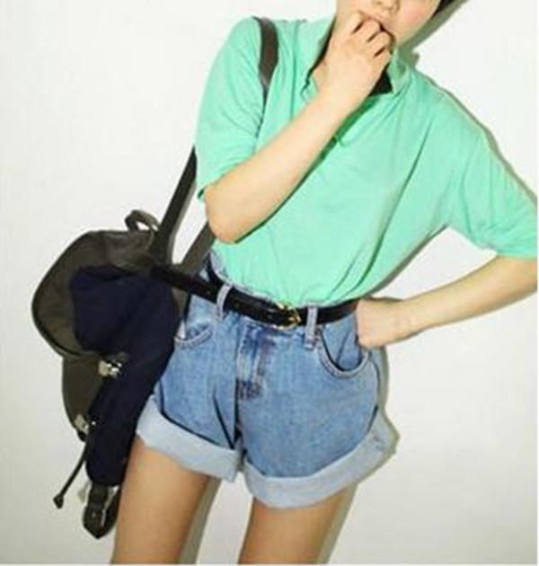 crimping jeans pants jeans jeans shorts #summer #cool #want