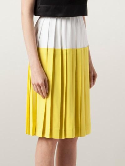 Cedric Charlier Sunshine Skirt - Rtw Charleston - Farfetch.com