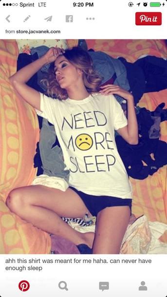 shirt sleep sad face hipster trendy