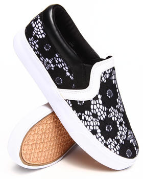 Buy Lace Overlay Slip-on Sneaker Women's Footwear from Modern Rebel. Find Modern Rebel fashions & more at DrJays.com