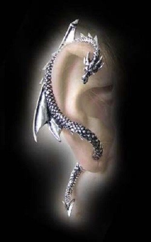 Super Hot Brand New Sexy Gothic Alchemy Right Dragon Ear Cuff Wrap | eBay