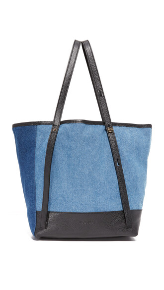 denim bag tote bag