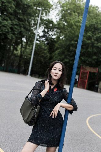 park and cube blogger jacket dress bag t-shirt