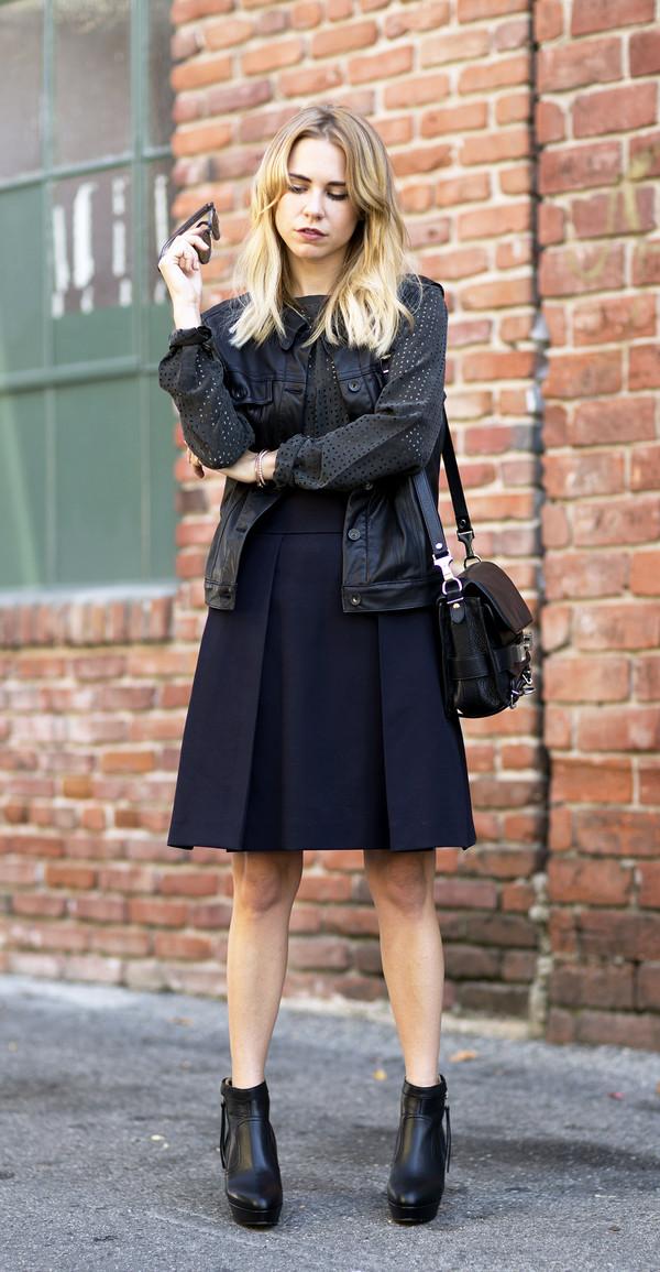 always judging blouse jacket skirt sunglasses bag shoes jewels