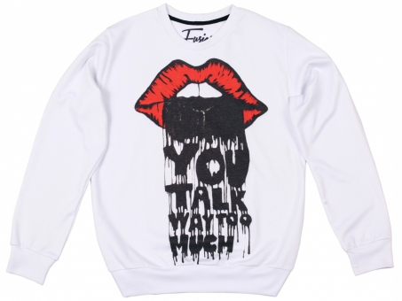 Original SEXY SWEATER YOU TALK TOO MUCH | Fusion® clothing!